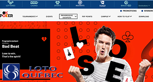 Masalah Loto-Quebec merekam jackpot bad beat poker online