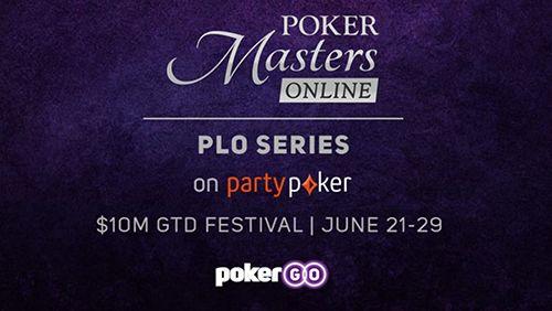 Seri Poker Masters PLO menghadirkan aksi empat kartu ke PokerGO