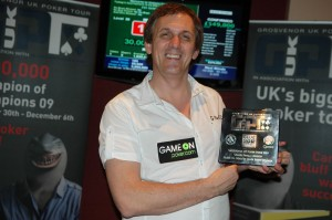 Tony Cascarino with his Grand Final win
