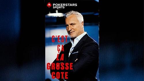David Ginola mempromosikan PokerStars meningkatkan peluang taruhan olahraga di La Grosse Cote