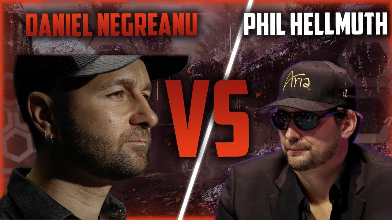Phil Hellmuth Daniel Negreanu