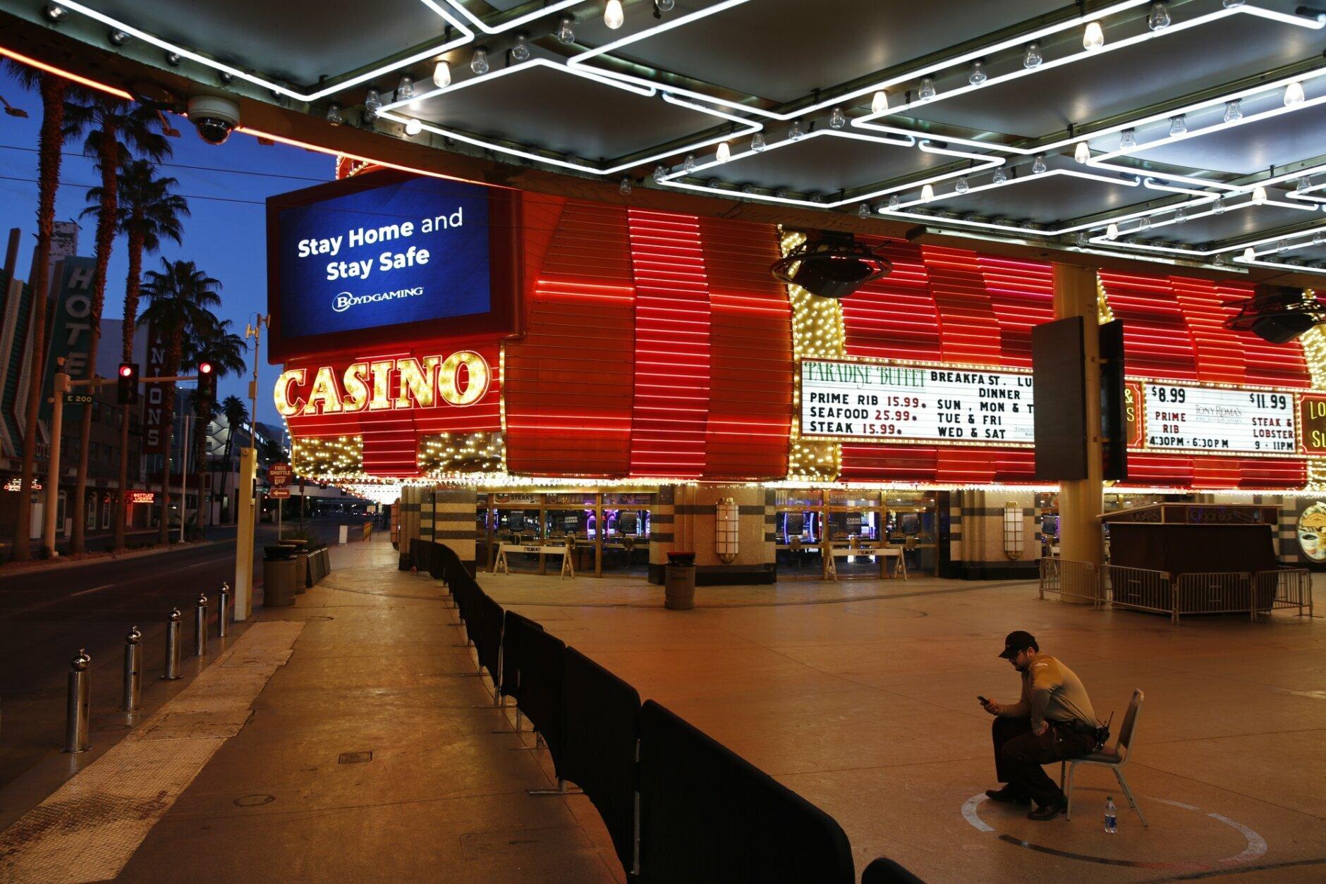 las vegas casinos poker