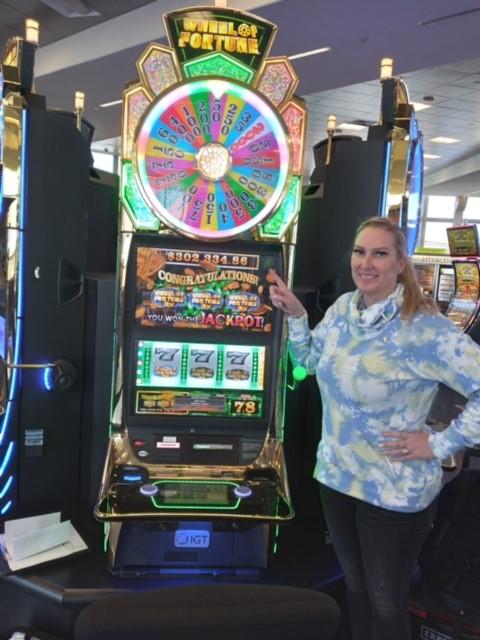 Airport jackpot winner