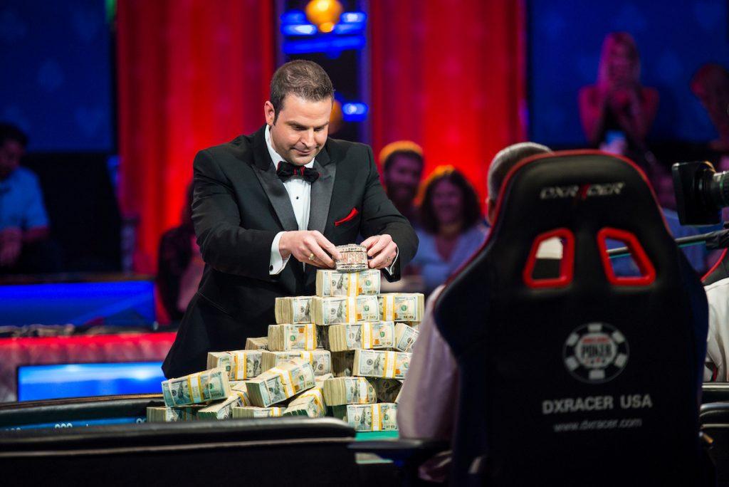 jack effel wsop poker dealers