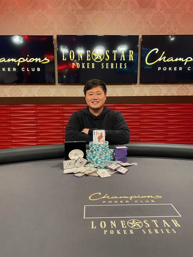 joon park lone star poker series